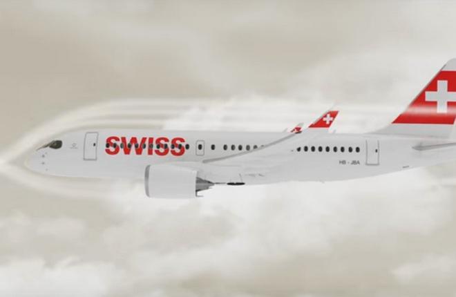 Swiss отчиталась о первом месяце эксплуатации CS100