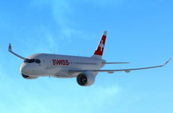 Стартовым эксплуатантом самолетов CS100 станет авиакомпания Swiss