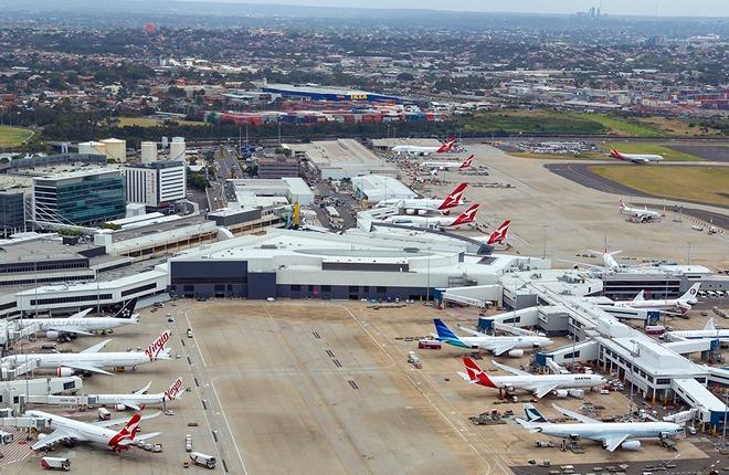 Для привлечения авиакомпаний в аэропорт Сиднея выделяют 90 миллионов долларов
