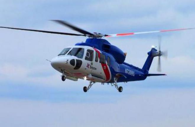 Sikorsky поставил первый вертолет S-76D