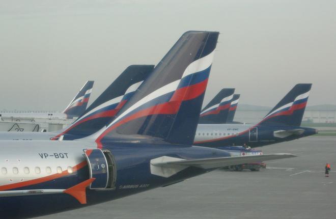 """Большая часть самолетов """"Аэрофлота"""" зарегистрирована в реестрах других государств"""