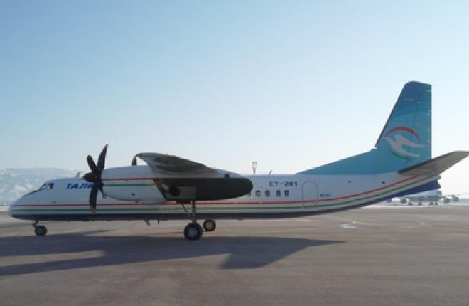 Первый китайский турбопроп MA60 прибыл в Душанбе