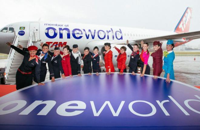 Авиакомпании US Airways и TAM Linhas Aereas стали участниками альянса Oneworld