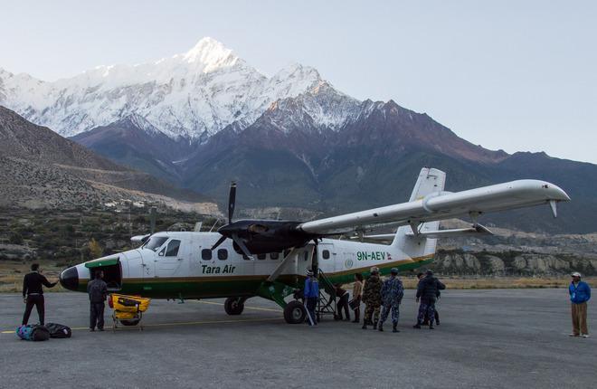 В Непале пропал самолет Twin Otter