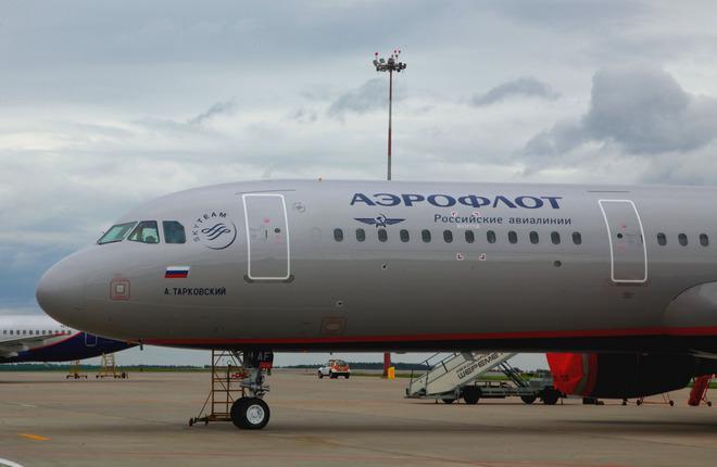 """В парк """"Аэрофлота"""" поступил седьмой за месяц самолет A321"""