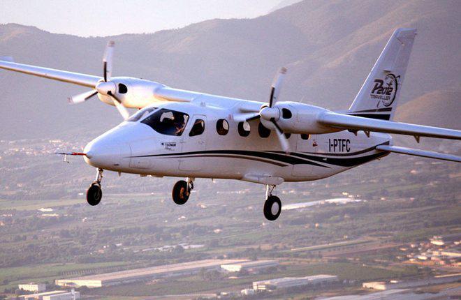 Поршневой региональный самолет Tecnam P2012 совершил первый полет
