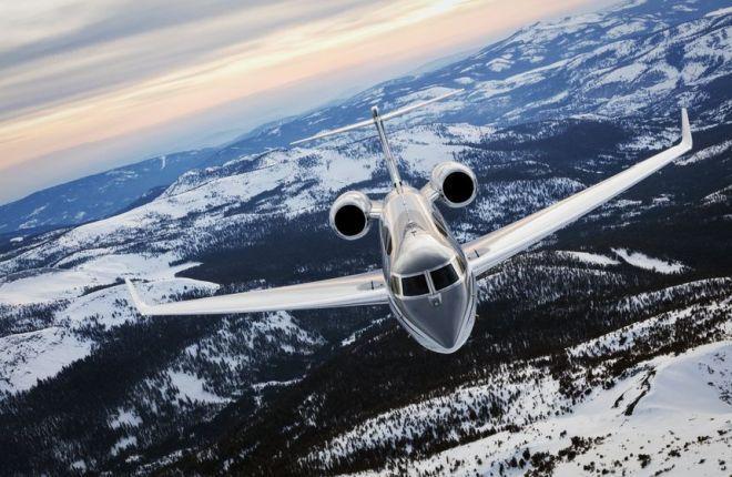 Бизнес-джет Gulfstream