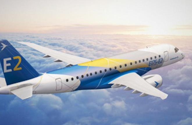 Компания Embraer завершила эскизное проектирование самолета E190-E2