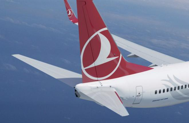 Чистая прибыль авиакомпании Turkish Airlines выросла в шесть раз