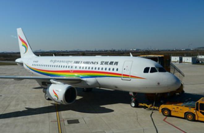 Авиакомпания Tibet Airlines получила первый Airbus A319 китайской сборки