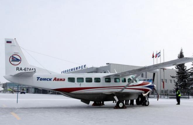 """Авиакомпания """"Томск Авиа"""" открывает рейс Новосибирск—Абакан"""