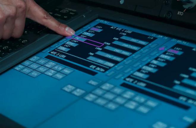 Boeing 777X первым среди коммерческих самолетов получит сенсорные дисплеи