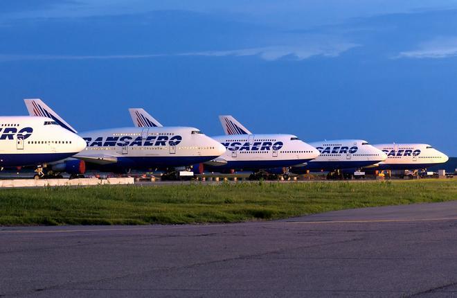 "Самолеты Boeing 747-400 авиакомпании ""Трансаэро"""