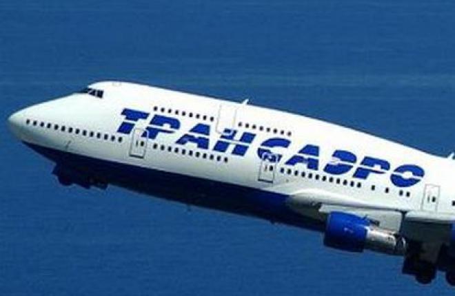 """Пассажиропоток """"Трансаэро"""" в 2011 году возрос на 27,2%"""
