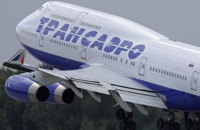 "Пассажиропоток авиакомпании ""Трансаэро"" возрос на 27%"