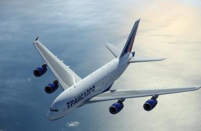 """Самолеты Airbus A380 авиакомпании """"Трансаэро"""" станут самым вместительными"""