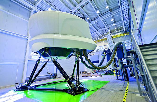 Комплексный тренажер уровня D (ICAO Level 7) с системой подвижности