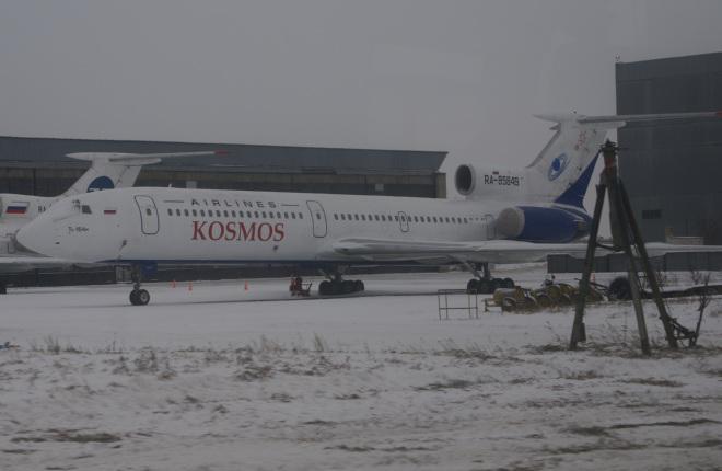 """Авиакомпания """"Космос"""" вывела из парка последний Ту-154"""