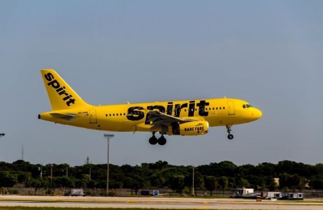 A319 авиакомпании Spirit Airlies
