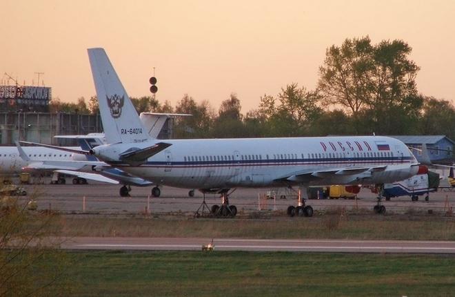 Ту-204 с регистрационным номером RA-64014