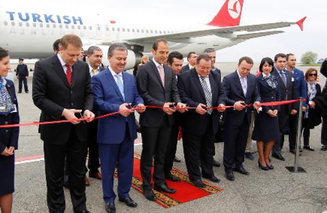Авиакомпания Turkish Airlines открыла полеты из Стамбула в Ставрополь