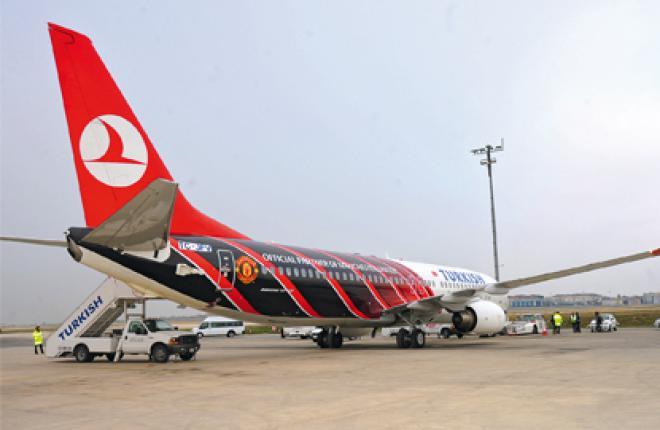 Лайнеры Boeing 777-300ER составляют основу дальнемагистрального парка Turkish A