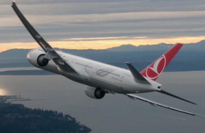 Чистая прибыль Turkish Airlines возросла почти в 60 раз