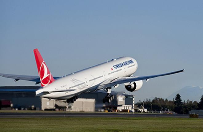 В первом полугодии авиакомпания Turkish Airlines увеличила прибыль на 42%