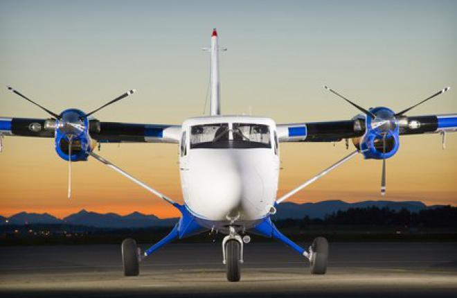 """Авиакомпания """"Аврора"""" получила первый DHC-6 Twin Otter"""