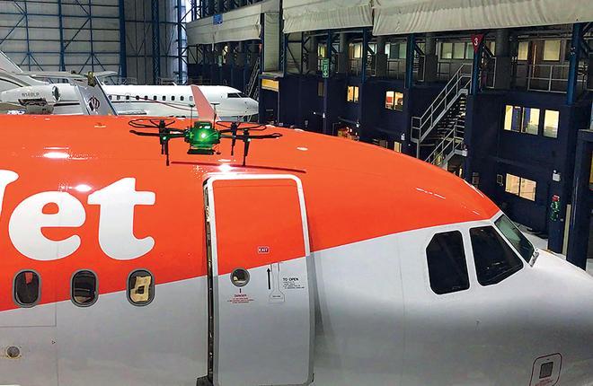 Дрон RAPID компаний Blue Bear и Output42 создавался совместно с технической службой Easyjet :: AW&ST
