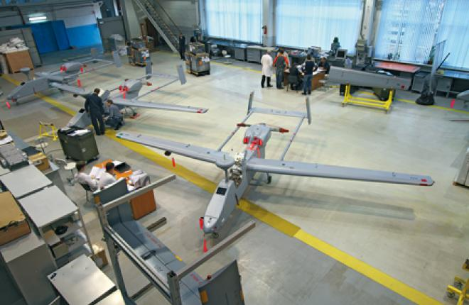 Forpost UAVs are being assembled at Ural Works of Civil Aviation in Yekaterinburg