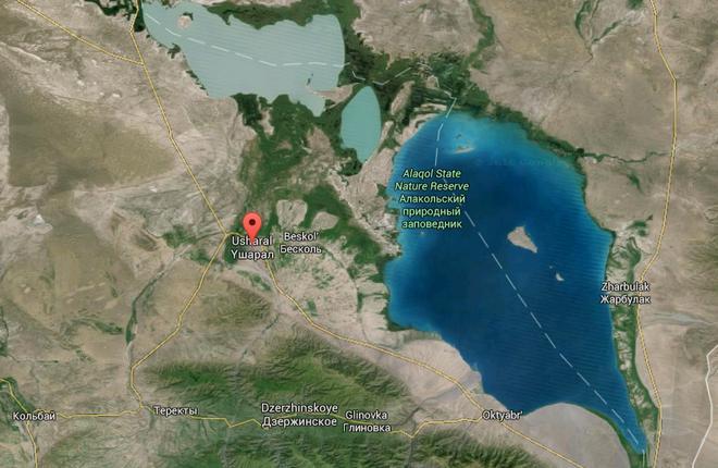 Рядом с озером Алаколь в Казахстане построят аэропорт