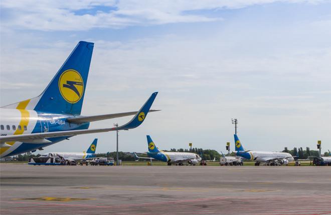 В 2015 году украинские авиакомпании потеряли 3% пассажиропотока