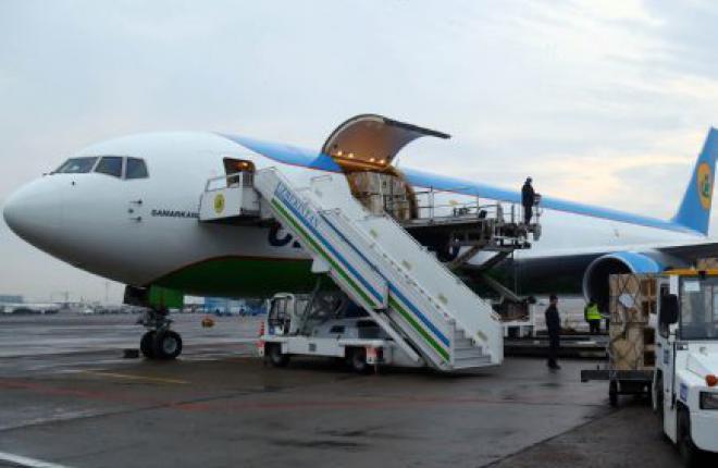 Авиакомпания Uzbekistan Airways выполнила первый рейс на грузовом самолете Boeing 767