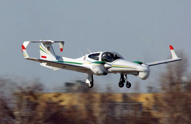 На вооружении Госпогранслужбы Украины находятся 3 самолета DA42
