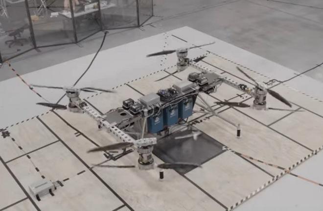 Прототип грузового беспилотника