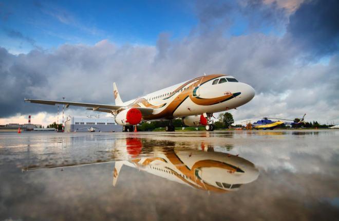 """Airbus A320 авиакомпании """"Меридиан"""""""