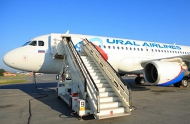 """Авиакомпания """"Уральские авиалинии"""" получит пять самолетов Airbus в 2013 году"""