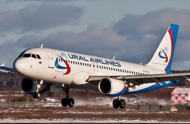 """Авиакомпания """"Уральские авиалинии"""" получит пять самолетов Airbus в 2014 г."""