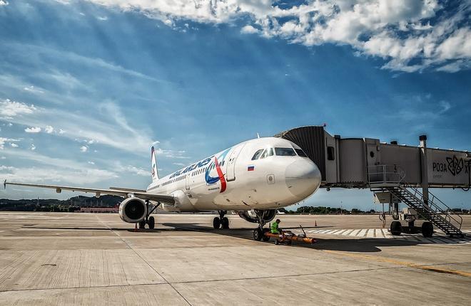 """""""Уральские авиалинии"""" пополнили парк очередным самолетом Airbus A320"""