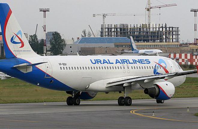"""В """"Уральские авиалинии"""" пришел девятый Airbus A321"""