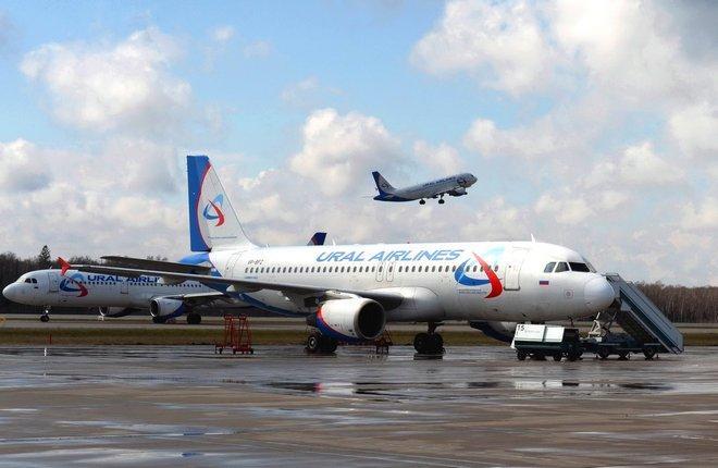самолеты Уральские авиалинии