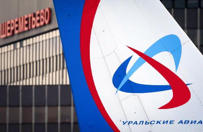 Самолет семейства Airbus A320 в московском аэропорту Шереметьево