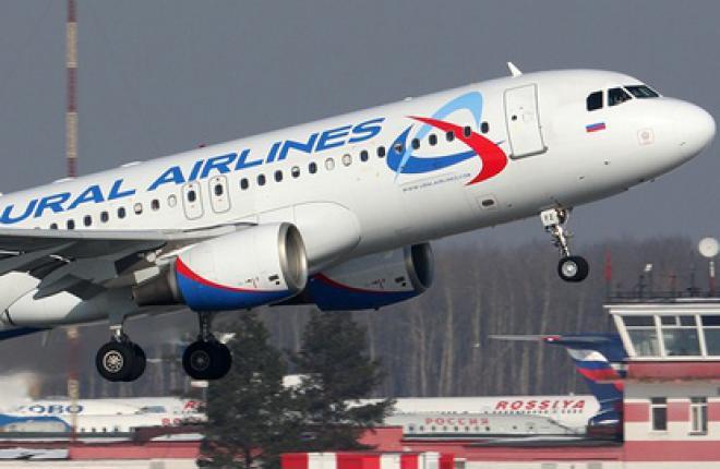"""Парк авиакомпании """"Уральские авиалинии"""" пополнился 15-м самолетом Airbus A320"""