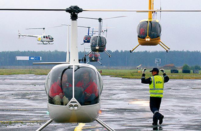 Доля легких и средних вертолетов растет