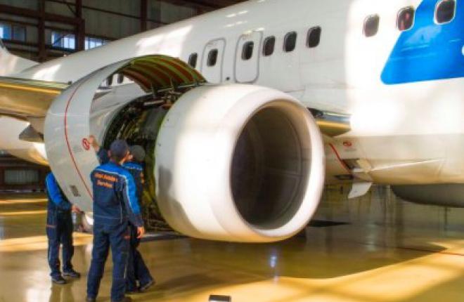 В Уфе начали обслуживать самолеты Boeing
