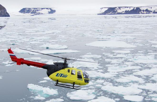 """Налет вертолетов группы """"ЮТэйр"""" в январе-сентябре 2012 года возрос на 21,7%"""
