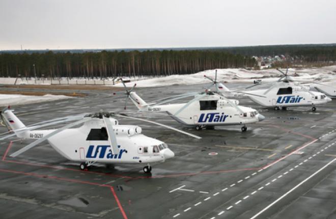 Приостановлены полеты всех 26 вертолетов Ми-26 авиакомпании «ЮТэйр»
