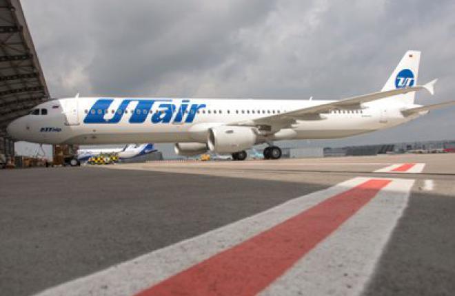 """Первый самолет Airbus A321 для авиакомпании """"ЮТэйр"""" совершил свой первый полет"""