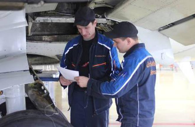 Группа «ЮТэйр» приготовилась к техобслуживанию самолетов SSJ 100